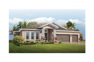 New home in ANTIGUA in Waterset, 3,547 - 3,551 SQ FT, 4 - 5 Bedroom, 3 Bath, Starting at 459,990 - Cardel Homes Tampa