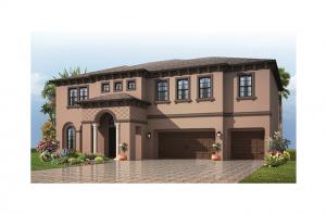 Martinique - Italian Villa Elevation - 3,498 - 3,834 sqft, 4 - 6 Bedroom, 3 - 4 Bathroom - Cardel Homes Tampa