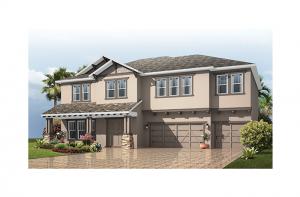 Martinique - Craftsman Elevation - 3,498 - 3,834 sqft, 4 - 6 Bedroom, 3 - 4 Bathroom - Cardel Homes Tampa