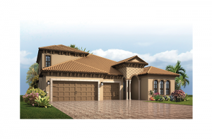 Endeavor 3 CCE - Italian Villa with Option #5 Elevation - 2,500 - 3,108 sqft, 3 - 5 Bedroom, 3 - 4 Bathroom - Cardel Homes Tampa