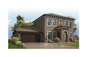 Endeavor 2 CW - Mizner Elevation - 2,848 - 3,302 sqft, 3 - 5 Bedroom, 2.5 - 4 Bathroom - Cardel Homes Tampa