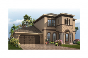 Endeavor 2 CW - Italianate Elevation - 2,848 - 3,302 sqft, 3 - 5 Bedroom, 2.5 - 4 Bathroom - Cardel Homes Tampa