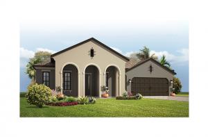Contessa CW - Mizner Elevation - 2,553 - 2,835 sqft, 3 - 5 Bedroom, 3 Bathroom - Cardel Homes Tampa