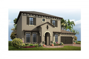 Avalon 2 CW - Mizner Elevation - 2,753 - 3,350 sqft, 3 - 6 Bedroom, 2.5 - 4 Bathroom - Cardel Homes Tampa
