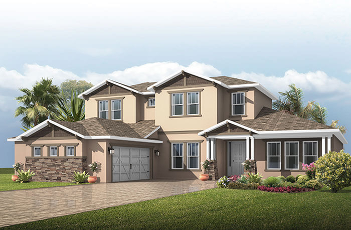 New home in BONAIRE in Waterset, 3,756 - 3,897 SQFT, 4 - 5 Bedroom, 2.5 - 3.5 Bath, Starting at 484,990 - Cardel Homes Tampa