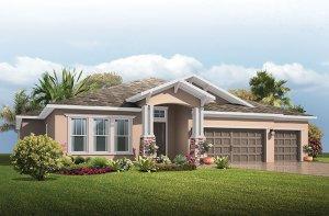 Antigua - Craftsman Elevation - 3,547 - 3,551 sqft, 4 - 5 Bedroom, 3 Bathroom - Cardel Homes Tampa