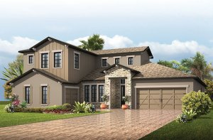 Montego - Tuscan Elevation - 3,800 sqft, 4 - 5 Bedroom, 4.5 - 5 Bathroom - Cardel Homes Tampa