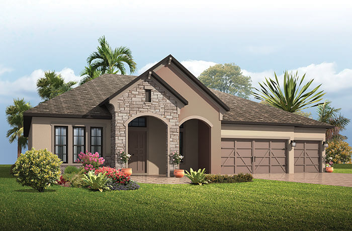 New home in GRAND CAYMAN in Waterset, 3,032 - 3,432  SQFT, 4 - 5 Bedroom, 3 - 4 Bath, Starting at 425,990 - Cardel Homes Tampa