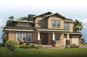 St. Regis - Craftsman Elevation - 3,484 - 3,833 sqft, 4 - 5 Bedroom, 2.5 - 5.5 Bathroom - Cardel Homes Tampa