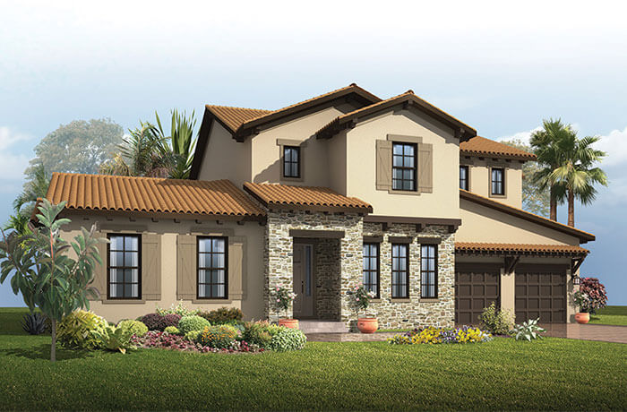 New home in ST. REGIS in The Preserve at FishHawk Ranch, 3,484 - 3,833 SQFT, 4 - 5 Bedroom, 2.5 - 5.5 Bath, Starting at 616,990 - Cardel Homes Tampa
