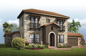 Waldorf - Tuscan Elevation - 3,661 - 3,672 sqft, 4 - 5 Bedroom, 3.5 - 4 Bathroom - Cardel Homes Tampa