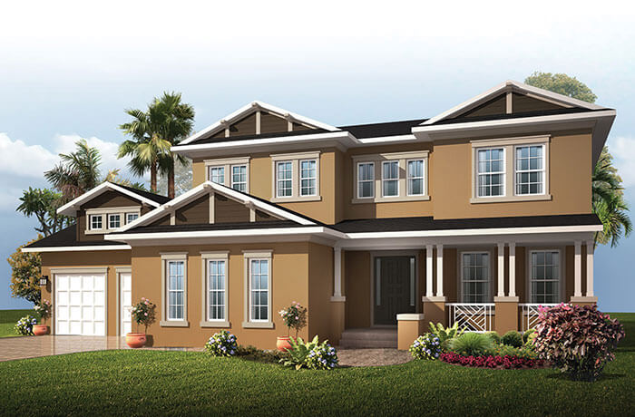 New Tampa Single Family Home Quick Possession Wilshire 2 in MiraBay, located at 709 MANNS HARBOR DR. <br />