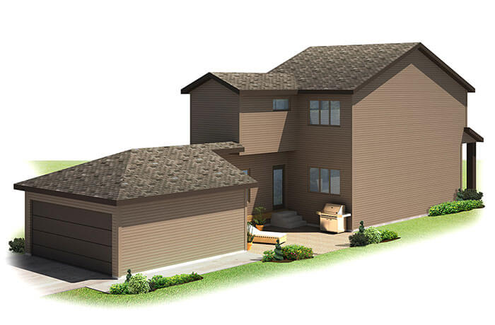 New home in AYDON in Walden, 1,621 SQFT, 3 Bedroom, 2.5 Bath, Starting at 410s - Cardel Homes Calgary