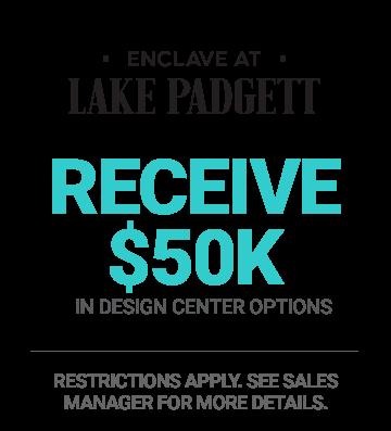 Lake Padgett Summer Savings 50K Promo Cardel Homes