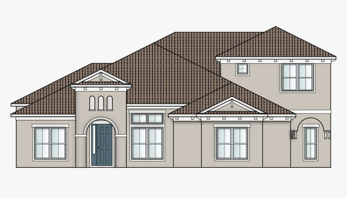 New Tampa  Model Home Henley in The Preserve at FishHawk Ranch, Built By Cardel Homes Tampa