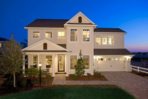 Gulfstream - Elevation B Gallery - Lakewood Ranch Gulfstream 4051  - 2,987 sqft, 3 Bedroom, 2.5 Bathroom - Cardel Homes Tampa