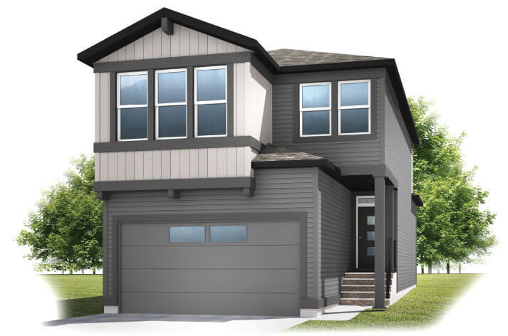 New Calgary Single Family Home Quick Possession Strand in Walden, located at 329 Walgrove Terrace SE Built By Cardel Homes
