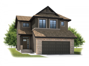 Meyer - Rustic S2 Elevation - 2,312 sqft, 3 Bedroom, 2.5 Bathroom - Cardel Homes Calgary