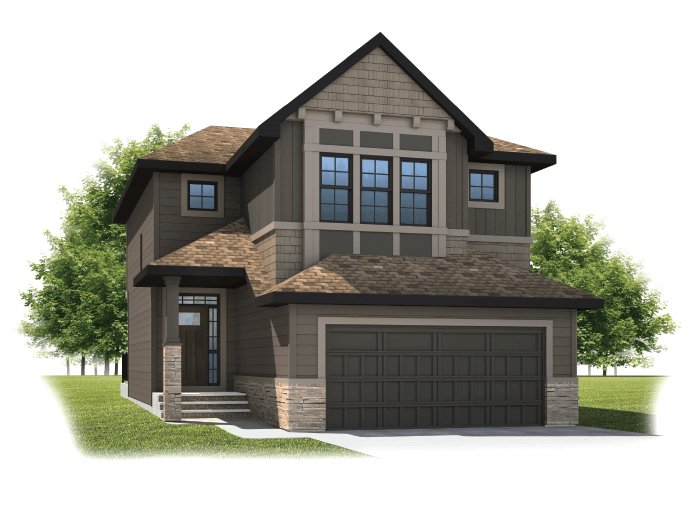 New home in MEYER in Shawnee Park, 2,312 SQFT, 3 Bedroom, 2.5 Bath, Starting at 720,000 - Cardel Homes Calgary