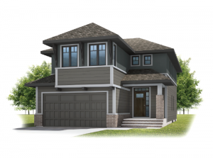 Preston - Prairie S3 Elevation - 2,422 sqft, 4 Bedroom, 2.5 Bathroom - Cardel Homes Calgary