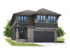 Selkirk 2 - Prairie S3 Elevation - 2,788 sqft, 4 Bedroom, 2.5 Bathroom - Cardel Homes Calgary