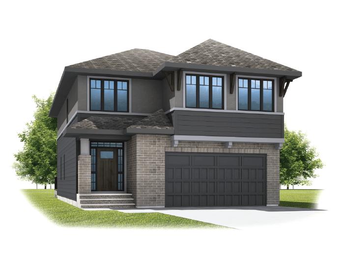 Selkirk 2 - Prairie S3 Elevation - 2,788 sqft, 4 Bedroom, 2.5 Bathroom - Cardel Homes Calgary