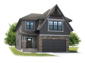 Selkirk 2 - Rustic S2 Elevation - 2,788 sqft, 4 Bedroom, 2.5 Bathroom - Cardel Homes Calgary