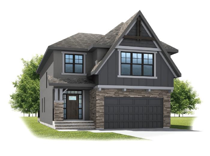 New home in SELKIRK 2 in Shawnee Park, 2,788 SQFT, 4 Bedroom, 2.5 Bath, Starting at 820,000 - Cardel Homes Calgary