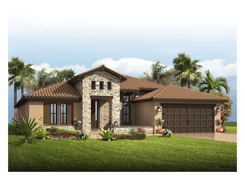 New Tampa Single Family Home Quick Possession Cortina SE in Lakewood Ranch, located at 16621 Berwick Terrace<br />