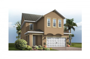 Maple - Traditional Elevation - 2,861 - 3,009 sqft, 4 Bedroom, 2.5-3.5 Bathroom - Cardel Homes Tampa