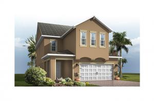 Maple - Traditional Elevation - 2,861 - 3,009 sqft, 4 Bedroom, 2.5-3.5 Bathroom - Cardel Homes Tampa