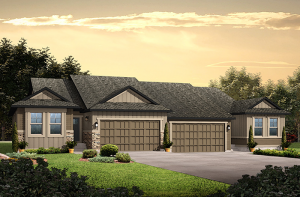 Willow - Willow Elevation - 1,537 sqft, 2 Bedroom, 2 Bathroom - Cardel Homes Denver