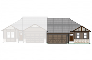 Willow - Elevation A Elevation - 1,537 sqft, 2 Bedroom, 2 Bathroom - Cardel Homes Denver