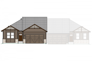 Ponderosa - Elevation A Elevation - 1,618 sqft, 2 Bedroom, 2 Bathroom - Cardel Homes Denver