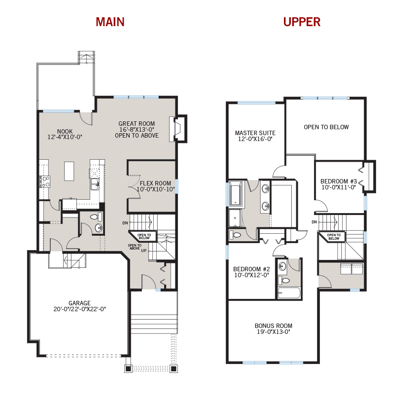 New Calgary Single Family Home Quick Possession Larch Floorplan in Shawnee Park, located at 747 SHAWNEE DRIVE SW Built By Cardel Homes Calgary