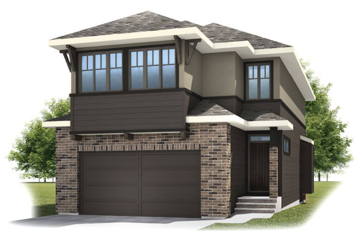 New home in BARRETT 2 in Shawnee Park, 2,537 SQFT, 4 Bedroom, 3.5 Bath, Starting at 630,000 - Cardel Homes Calgary
