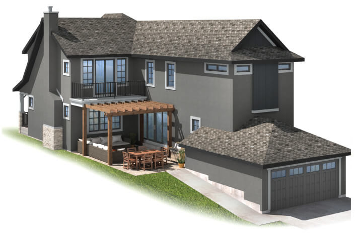 New home in IVEY COURT in Shawnee Park, 2,668 SQFT, 3 Bedroom, 2.5 Bath, Starting at 740s - Cardel Homes Calgary