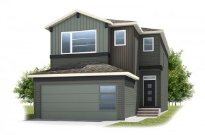 Stanton 1 - Urban Craftsman A2 Elevation - 1,662 sqft, 3 Bedroom, 2.5 Bathroom - Cardel Homes Calgary