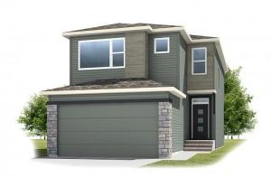Stanton 1 - Urban Prairie A3 Elevation - 1,662 sqft, 3 Bedroom, 2.5 Bathroom - Cardel Homes Calgary