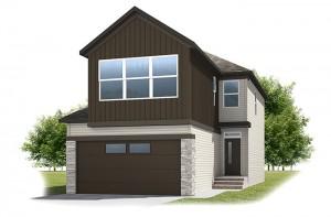 Birkhill - Urban Craftsman A3 Elevation - 2,007 sqft, 3 Bedroom, 2.5 Bathroom - Cardel Homes Calgary