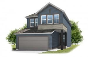 Emerge - Urban Farmhouse A3 Elevation - 1,994 sqft, 3 Bedroom, 2.5 Bathroom - Cardel Homes Calgary