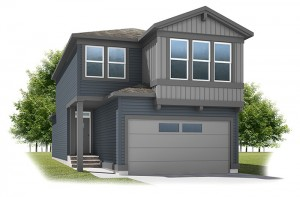 Strand - Urban Craftsman A1 Elevation - 1,903 sqft, 3 Bedroom, 2.5 Bathroom - Cardel Homes Calgary
