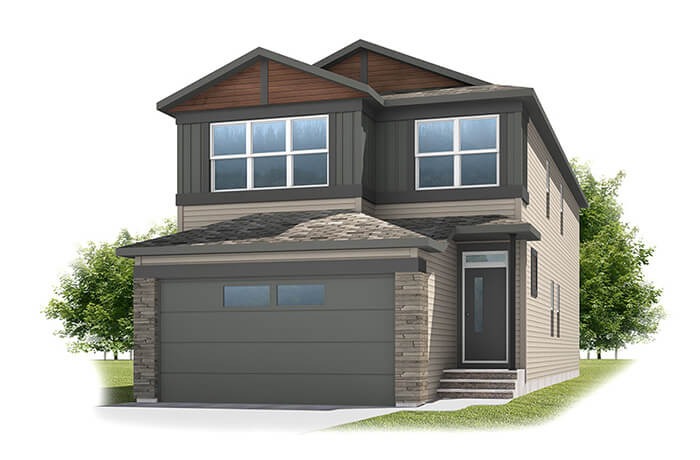 New home in SABAL in Savanna, 2,313 SQFT, 4 Bedroom, 2.5 Bath, Starting at 540,000 - Cardel Homes Calgary