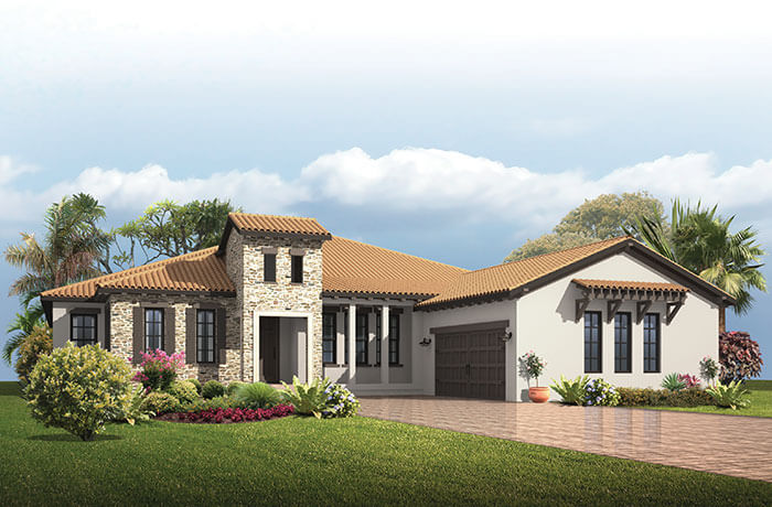 New home in DOLCETTO 4 in Lakewood Ranch, 3,270 - 3,423 SQFT, 3 Bedroom, 3 Bath, Starting at 634,990 - Cardel Homes Tampa