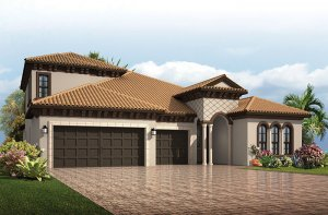 Endeavor 3 CCE - Italian Villa with Option #5 Elevation - 2,500 - 3,108 sqft, 4 - 5 Bedroom, 3 - 4 Bathroom - Cardel Homes Tampa