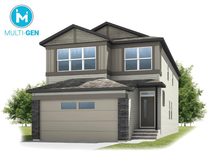 New home in SABAL in Savanna, 2,313 SQFT, 4 Bedroom, 2.5 Bath, Starting at 540,000 - Cardel Homes Calgary