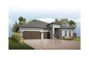 Endeavor3-Medit-700x460-2018 Elevation - 2,500 - 3,108 sqft, 4 - 5 Bedroom, 3 - 4 Bathroom - Cardel Homes Tampa