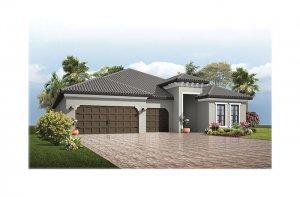 Endeavor3-Medit-700x460-2018 Elevation - 2,500 - 3,108 sqft, 4 - 5 Bedroom, 3 - 4 Bathroom - Cardel Homes Tampa