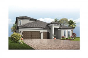 Endeavor3-Medit-Opt5-700x460-2018 Elevation - 2,500 - 3,108 sqft, 4 - 5 Bedroom, 3 - 4 Bathroom - Cardel Homes Tampa