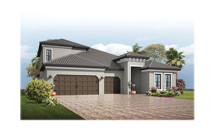 New home in ENDEAVOR 3 in Lakewood Ranch, 2,500 - 3,108 SQFT, 4 - 5 Bedroom, 3 - 4 Bath, Starting at 669,990 - Cardel Homes Tampa